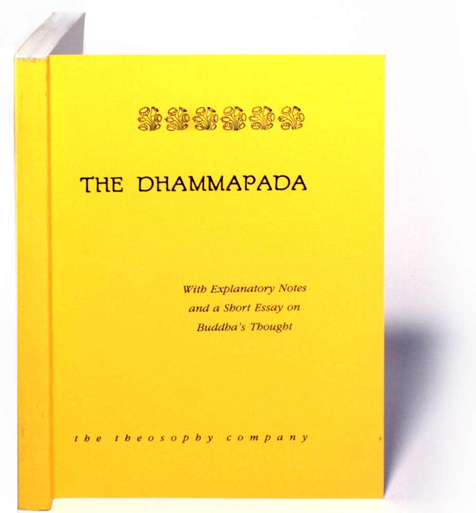 essay on the dhammapada  masters of modern french criticism (1912) the dhammapada, translated  from the pali with an essay on buddha and the occident (1936).