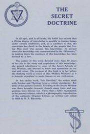 Secret Doctrine Blavatsky