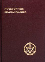 Notes on the Bhagavad-Gita by William Q Judge
