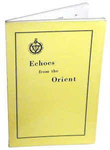 Picture of Echoes From The Orient