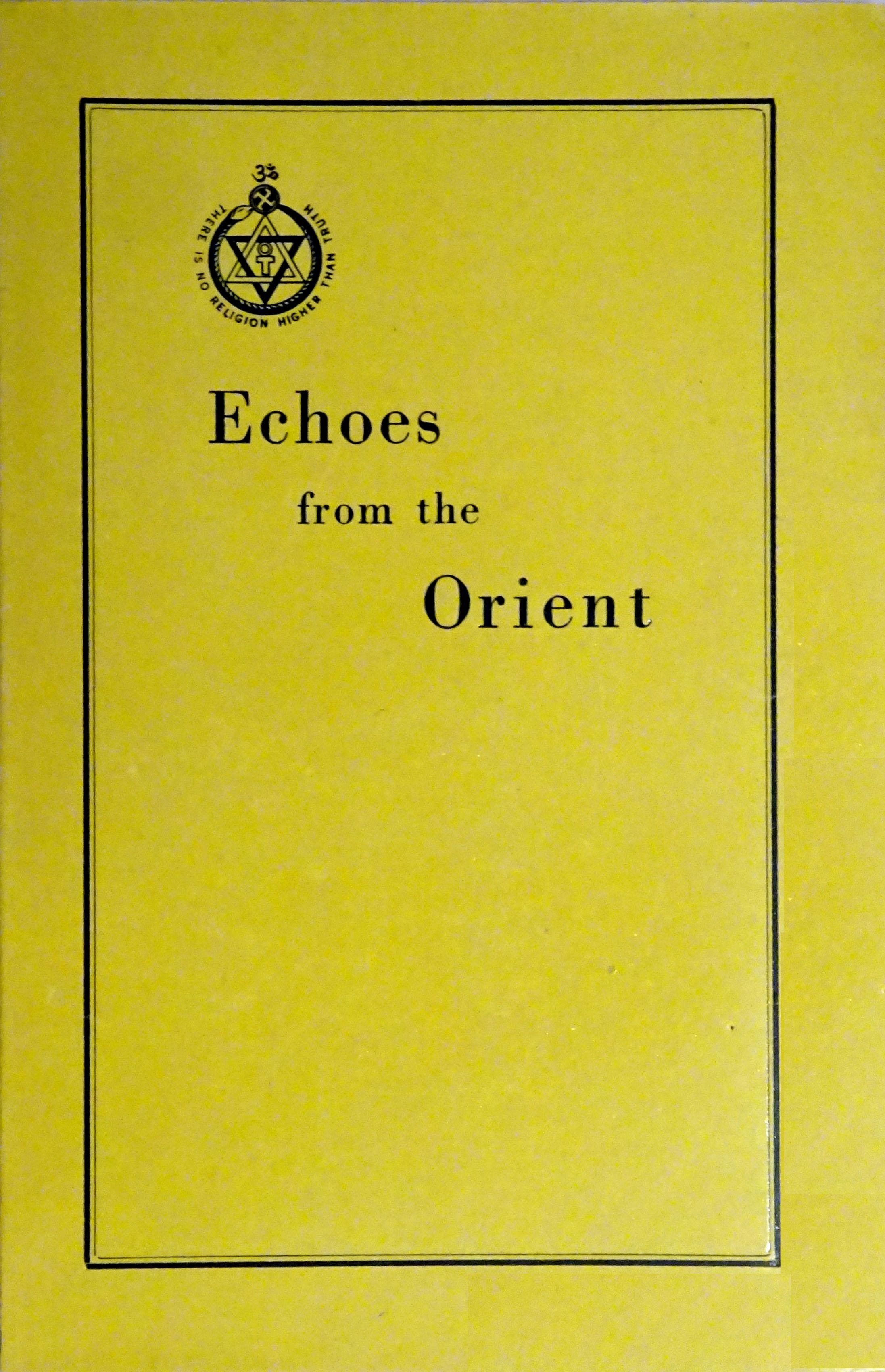 Echoes from the Orient picture