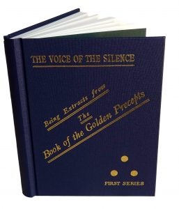 Voice of the Silence picture of open front cover