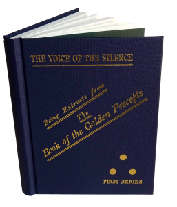 Voice of the Silence with front cover open