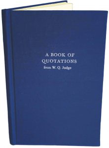 W Q Judge Daily Quotes front
