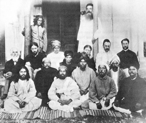 H. P. Blavatsky, Bhavani Shankar & other members of TS, India, 1884